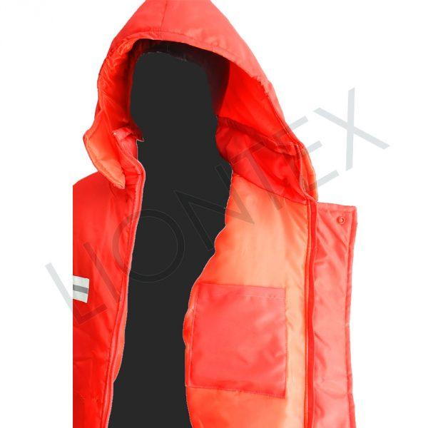 Campera Roja Cierres